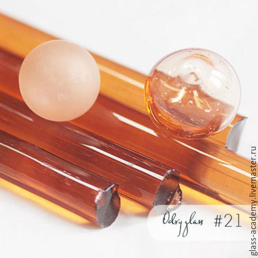 Для украшений ручной работы. Ярмарка Мастеров - ручная работа. Купить стекло #21 - Bergamot (Бергамот)  для lampwork Odry glass coe 104. Handmade.