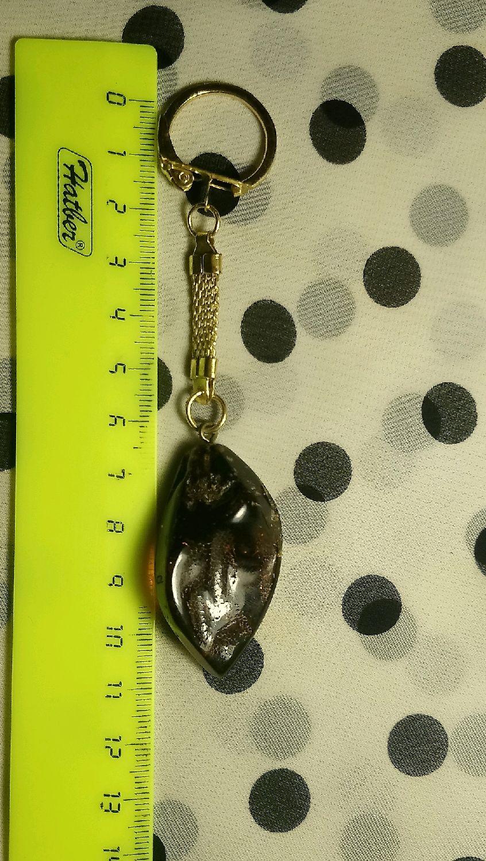 Брелок на ключи из Балтийского янтаря!