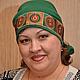 Быт ручной работы. Ярмарка Мастеров - ручная работа. Купить Женский головной убор. Handmade. Головной убор для женщин