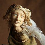 Куклы и игрушки ручной работы. Ярмарка Мастеров - ручная работа Ангел и Шут, авторская кукла. Handmade.
