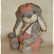 Куклы и игрушки ручной работы. Ярмарка Мастеров - ручная работа Заяц серый,куда бегал..... Handmade.