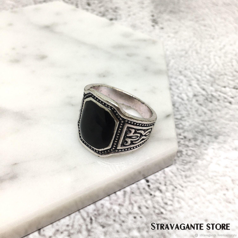Men's stainless steel ring, Rings, St. Petersburg,  Фото №1