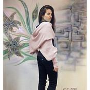 Одежда ручной работы. Ярмарка Мастеров - ручная работа Шарф-свитер безразмерный вязаный, шарф-свитер, во всех цветах!. Handmade.