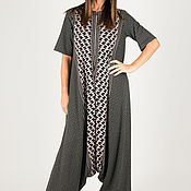 handmade. Livemaster - original item Loose, stylish cotton jumpsuit-JP0293TR. Handmade.