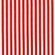Немецкий хлопок бело-красная полоска. Ткани. Ткани из Германии (Hobbyundstoff). Интернет-магазин Ярмарка Мастеров.  Фото №2