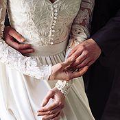 Свадебный салон ручной работы. Ярмарка Мастеров - ручная работа Свадебное платье для Алины. Handmade.