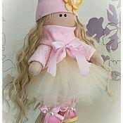 Куклы и игрушки ручной работы. Ярмарка Мастеров - ручная работа Зефирная малышка Люси. Handmade.