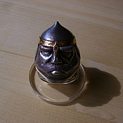 Украшения handmade. Livemaster - original item Heroic head - ring with a secret. Handmade.