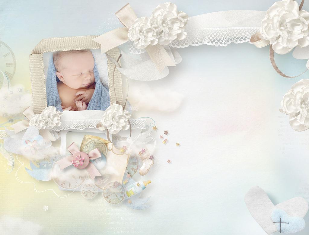 Картинки, открытки для новорожденных фотошоп