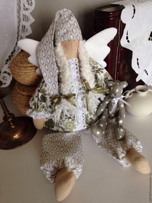 """Куклы Тильды ручной работы. Ярмарка Мастеров - ручная работа. Купить Сплюшка """"Доброе утро!"""". Handmade. Тильда, сплюша"""