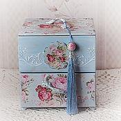 Для дома и интерьера handmade. Livemaster - original item Mini chest of drawers shabby chic
