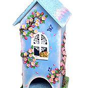 Для дома и интерьера handmade. Livemaster - original item Teahouse blossom 3, tea house Sakura. Handmade.