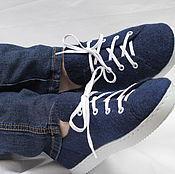 Обувь ручной работы. Ярмарка Мастеров - ручная работа Кеды валяные. Handmade.