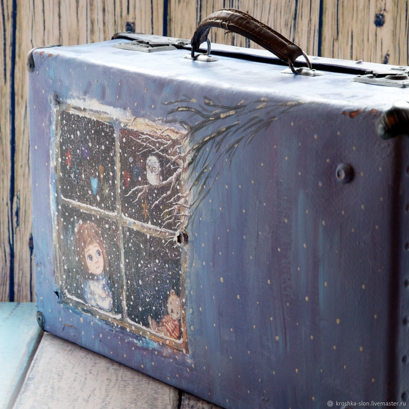 Ярмарка Мастеров - ручная работа. Купить Большой старый чемодан. Handmade · Чемоданы  ручной работы. Большой старый чемодан. Татьяна Косова (tatyanakosova). 70b59d4ac97