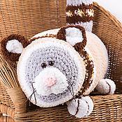 Для дома и интерьера handmade. Livemaster - original item knitted pillow