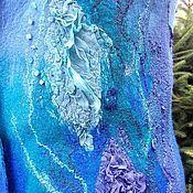 """Одежда ручной работы. Ярмарка Мастеров - ручная работа жилет войлочный """"В царстве Нептуна"""". Handmade."""