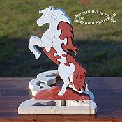 Stuffed Toys handmade. Livemaster - original item Puzzle Mustang. Handmade.