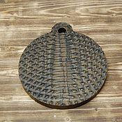 Посуда handmade. Livemaster - original item Round Board for filing. Handmade.