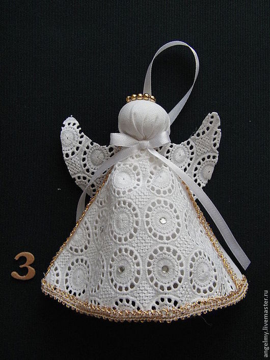 Ароматизированные куклы ручной работы. Ярмарка Мастеров - ручная работа. Купить Арома Ангел (лаванда) арт. 035. Handmade. Белый