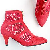 Обувь ручной работы handmade. Livemaster - original item Ankle Boots Passion. Handmade.