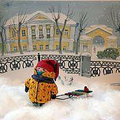 Куклы и игрушки ручной работы. Ярмарка Мастеров - ручная работа куколка Юлька. Handmade.