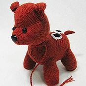 Куклы и игрушки ручной работы. Ярмарка Мастеров - ручная работа Собака Варежка. Handmade.