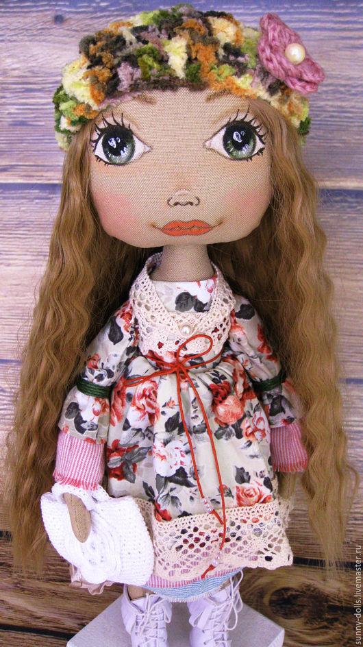 Коллекционные куклы ручной работы. Ярмарка Мастеров - ручная работа. Купить Оливия. Handmade. Комбинированный, кукла текстильная, кукла на заказ