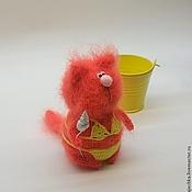 Куклы и игрушки ручной работы. Ярмарка Мастеров - ручная работа Кот или заяц в купальнике. Handmade.