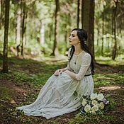Свадебный салон handmade. Livemaster - original item Boho wedding dress for Polina. Handmade.