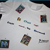 Одежда ручной работы. Ярмарка Мастеров - ручная работа Про копии, людей и П.Пикассо. Handmade.