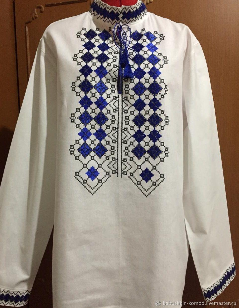 Men's embroidery MP1 - 021, Mens shirts, Temryuk,  Фото №1