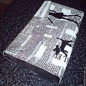 """Сумки и аксессуары ручной работы. Ярмарка Мастеров - ручная работа клатч """"Дама с собачкой"""". Handmade."""