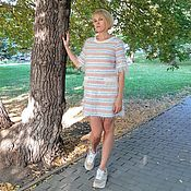 Одежда handmade. Livemaster - original item Dress made of knitted knitwear in the style of