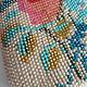 Женские сумки ручной работы. Монетница из бисера с красной розой. Анастасия Ерофеева Бисерные сумочки. Интернет-магазин Ярмарка Мастеров.