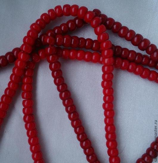 Для украшений ручной работы. Ярмарка Мастеров - ручная работа. Купить 2 цвета!!! 10 шт  Коралл натуральный бусины  рондели.. Handmade.