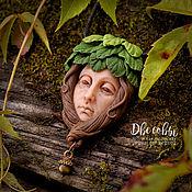 Украшения handmade. Livemaster - original item Pendant: the spirit of the forest. Handmade.