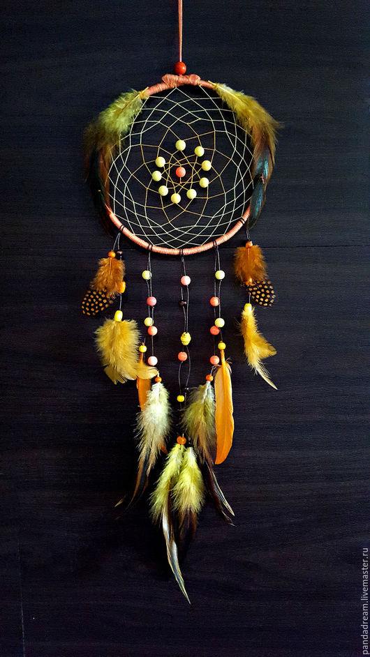 Ловцы снов ручной работы. Ярмарка Мастеров - ручная работа. Купить Warm autumn. Handmade. Ловец снов, ловец для снов