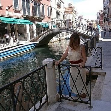 """Одежда ручной работы. Ярмарка Мастеров - ручная работа """"Венецианская Дива"""" эксклюзивное платье из шелка. Handmade."""