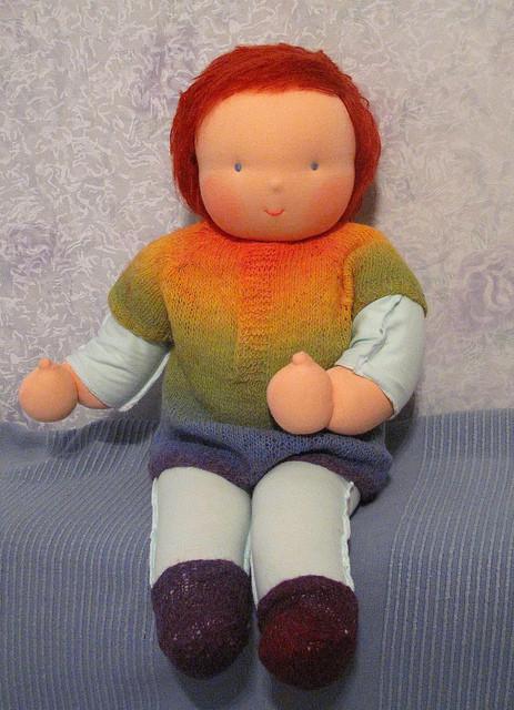 К кукле возможно изготовление одежек. Договориться об этом можно во время оформения заказа.