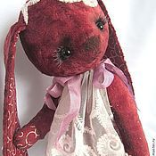 Куклы и игрушки ручной работы. Ярмарка Мастеров - ручная работа Зайка тедди Cherry Ice. Handmade.
