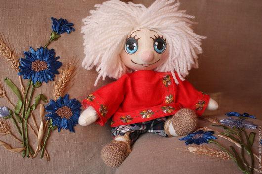 """Сказочные персонажи ручной работы. Ярмарка Мастеров - ручная работа. Купить Кукла игрушка """" Домовенок"""". Handmade. Комбинированный, оберег"""