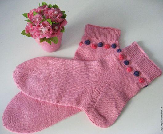 Носочки `Розовый щербет`