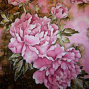 Аксессуары handmade. Livemaster - original item Shawl batik