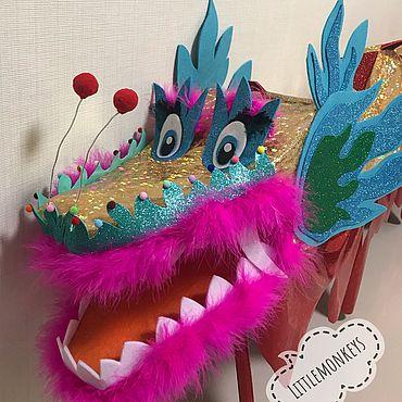 Дизайн и реклама ручной работы. Ярмарка Мастеров - ручная работа Китайский дракон. Handmade.