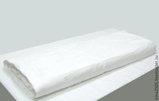 Шитье ручной работы. Ярмарка Мастеров - ручная работа. Купить Ткань Бязь отбеленная. Handmade. Белый, ткань хлопок