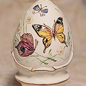 Сувениры и подарки handmade. Livemaster - original item Easter porcelain egg