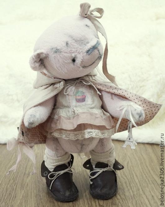 Мишки Тедди ручной работы. Ярмарка Мастеров - ручная работа. Купить мишка тедди Ameli. Handmade. Бледно-розовый, мишка