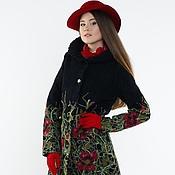 Пальто ручной работы. Ярмарка Мастеров - ручная работа Пальто с капюшоном Маки. Handmade.