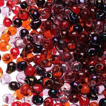 Materials for creativity handmade. Livemaster - original item 10g Miyuki MIX 18 Drops of the vineyard Vinyard Japanese seed beads Miyuki. Handmade.