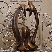 """Для дома и интерьера ручной работы. Ярмарка Мастеров - ручная работа Скульптура """"Ангел-хранитель"""". Handmade."""